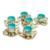 Чайний набір JHBC 8001 на 6 персон 12 предметів