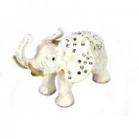 Шкатулка со стразами статуэтка слон 1191