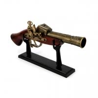 Старинная зажигалка мушкет 1718 D. Smoker