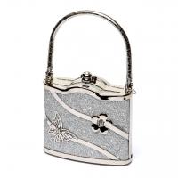 Маленька сумочка срібляста 02