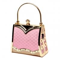 Жіноча маленька сумочка рожева 05