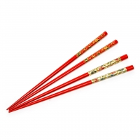 Набор для суши палочки красные 2 пары 38