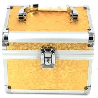 Шкатулка скринька для прикрас і косметики велика метелики золотиста 8151-3
