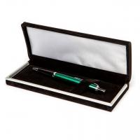 Подарункова ручка кулькова зелена Ш-929-В-2