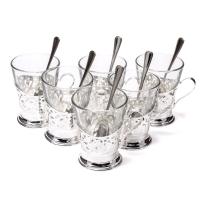 Чайный сервиз на 6 чашек Chinelli
