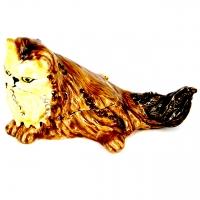 Шкатулка со стразами в виде статуэтки кошки 10711B