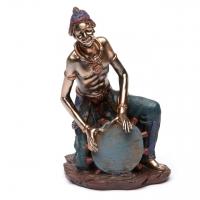 Статуэтка африканского музыканта 5241D