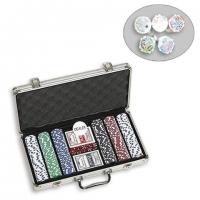 Набор для игры в покер на 300 фишек с номиналом DM300NA