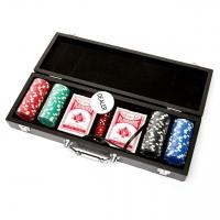 Набір для покеру на 100 фішок в кейсі WS11100 Lucky Gamer