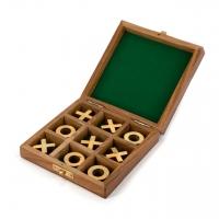Игра крестики нолики в подарочном футляре 1821А