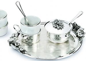 Набор элитной посуды от итальянского бренда Chinelli - фото darunok.ua