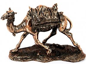Статуэтка верблюд с медным покрытием - фото darunok.ua