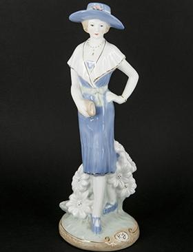 Фарфорова статуетка дівчини - фото darunok.ua