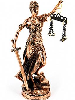 Подарочная статуэтка Фемида - фото darunok.ua