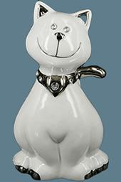 Керамическая статуэтка Claude Brize - кот - фото darunok.ua
