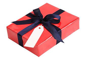 Подарунок на 35-річчя в контрастній упаковці - фото інтернет магазин darunok.ua