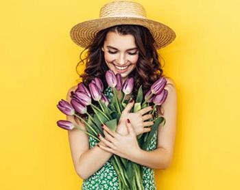 Цветы для девушки - фото darunok.ua