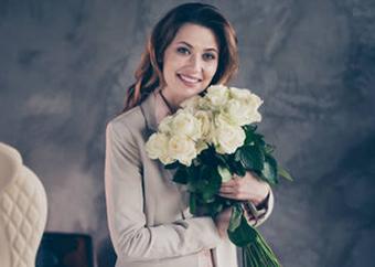 Квіти на День народження жінці - фото darunok.ua