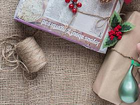 Необычная упаковка презента для мужа на Рождество - фото интернет-магазина darunok.ua