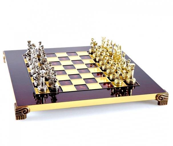 Шахматы Греко Римский период - отличный сувенир папе на день Защитника (14 октября)  - фото интернет-магазина darunok.ua