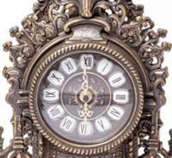 Циферблат часов для камина - фото darunok.ua