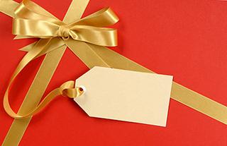 Бирка на упаковке для пожеланий Овну девушке - фото darunok.ua
