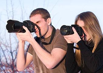 Фотографы на природе - фото darunok.ua