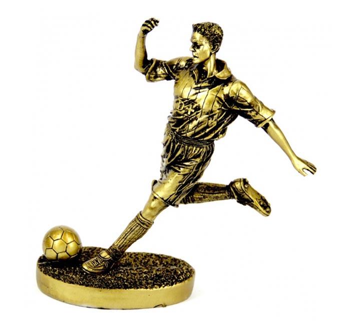 Статуэтка футболист - прекрасный сувенир учителю физкультуры - фото интернет-магазина darunok.ua