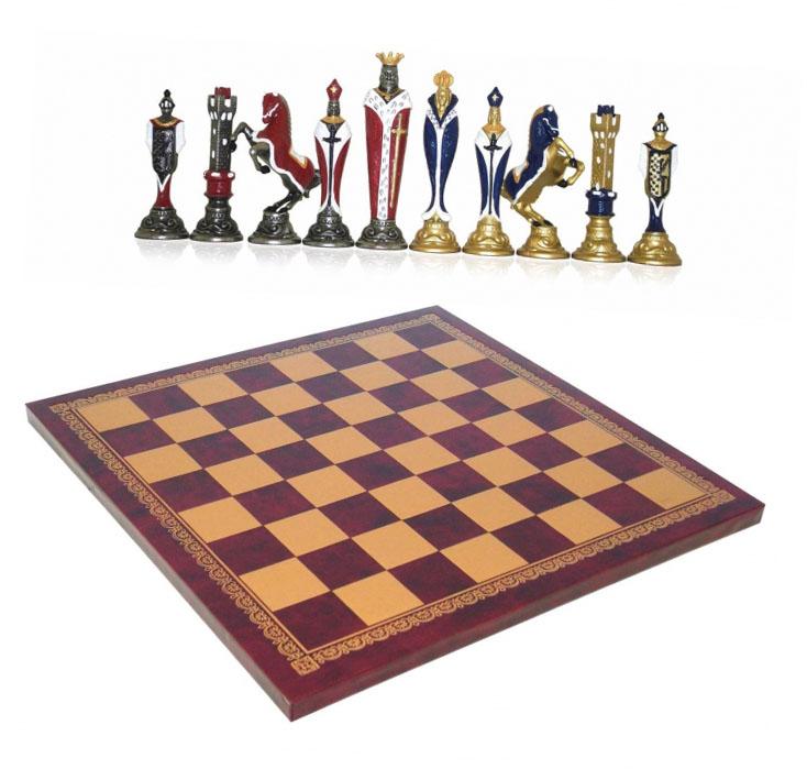Шахматы сувенирные элитные Крестоносцы - прекрасный сувенир для министра - фото интернет-магазина darunok.ua