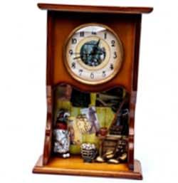 Оригинальные часы для декора интерьера - фото Дарунок