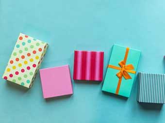 Подарки в красочной упаковке - фото darunok.ua