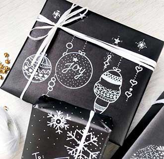Новорічні стильні подарунки - фото Дарунок