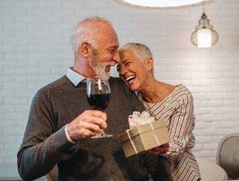 Поздравление мужа на юбилей 75 лет - фото darunok.ua