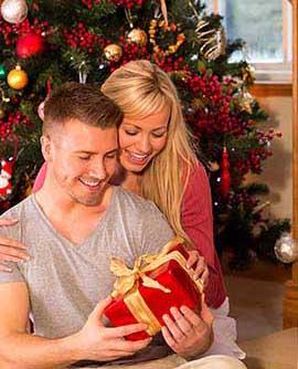 Новогодний презент для мужа - фото darunok.ua