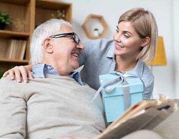 Поздравление отца с юбилеем 70 лет - фото darunok.ua