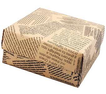 Необычная упаковка сувенира - фото Дарунок