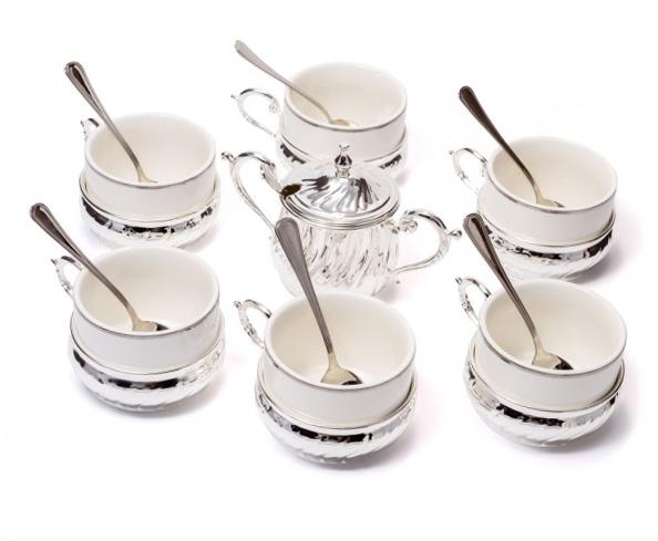 Чайный сервиз - отличный подарок женщине - фото интернет магазин darunok.ua