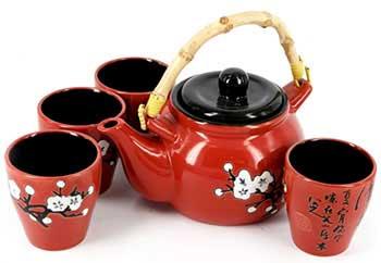 Оригінальний чайний набір - фото Дарунок