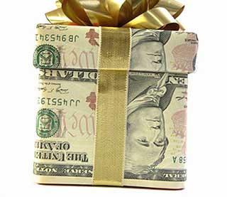 Цікава упаковка подарунка - фото Дарунок