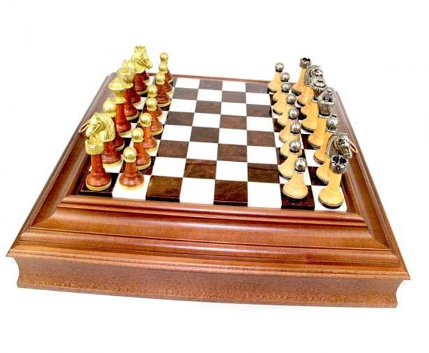 Шахи класичні - шикарний сувенір для дипломата - фото Дарунок