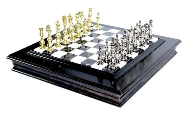 Шахматы подарочные - невероятный сувенир для - фото Дарунок