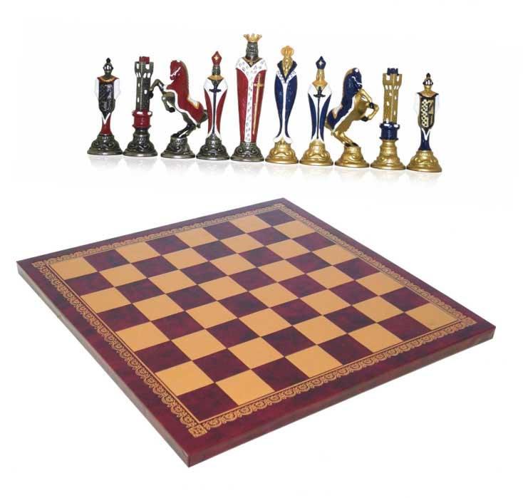 Шахматы сувенирные элитные Крестоносцы - прекрасный сувенир для министра - фото Дарунок