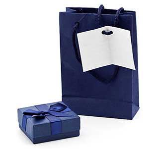 Подарок программисту, оформленный в синем цвете - фото Дарунок