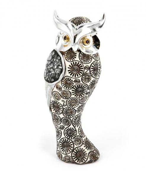 статуетка сова з полистоуна - прекрасний сувенір вчителю на День Народження - фото Дарунок