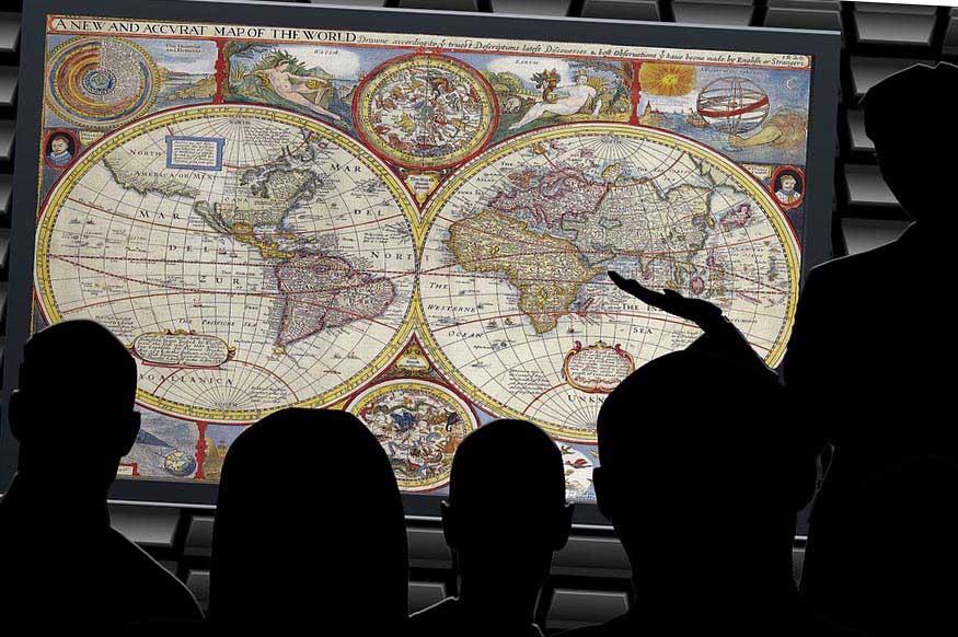 Урок географии  - фото darunok.ua