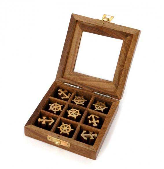 Игра крестики-нолики в морском стиле - прекрасный сувенир медику - фото Дарунок