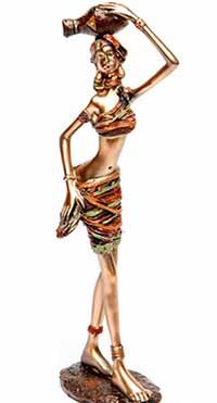 Фігурка африканська подарункова - фото darunok.ua