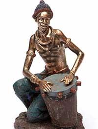 Фігурка негра барабанщика - фото Дарунок