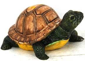 Фигурка черепахи декоративная - фото darunok.ua