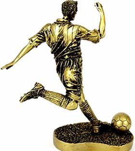 Декоративна фігурка футболіста - фото darunok.ua